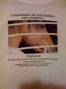 Conquistador tee shirt