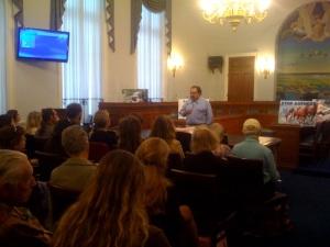 Congressman Raul Grijalva at Press Conference