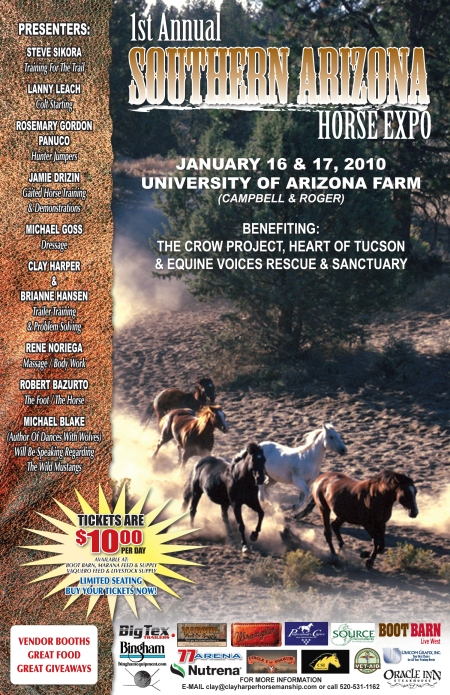 Arizona Horse Expo Publicity Flier